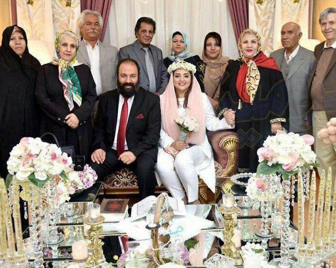 ازدواج علی اوجی و نرگس محمدی