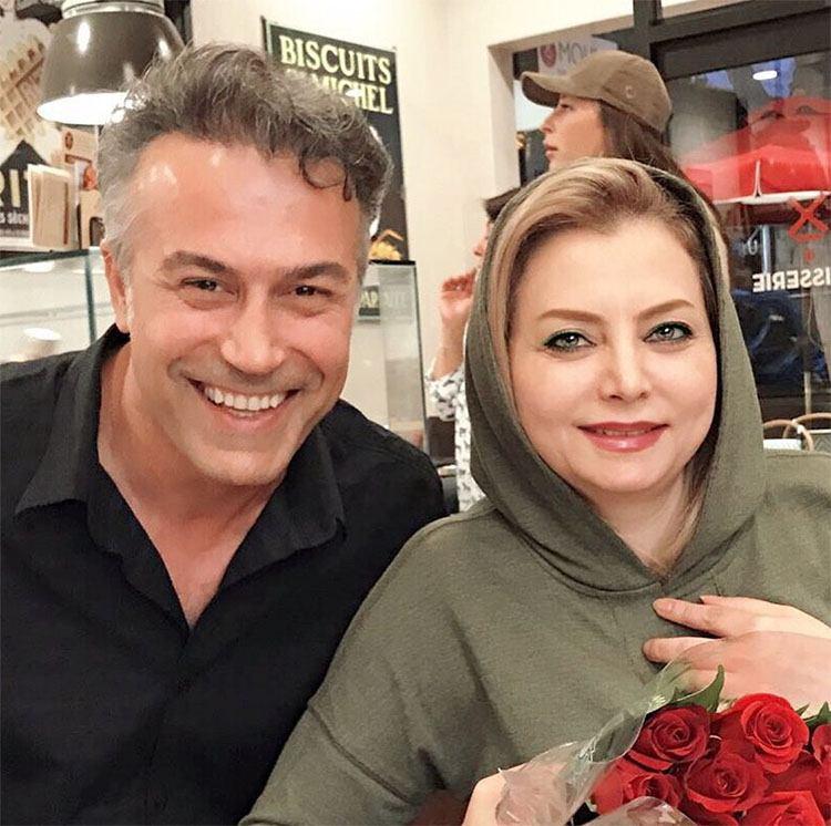 عکس: دانیال حکیمی و همسرش در خارج از کشور