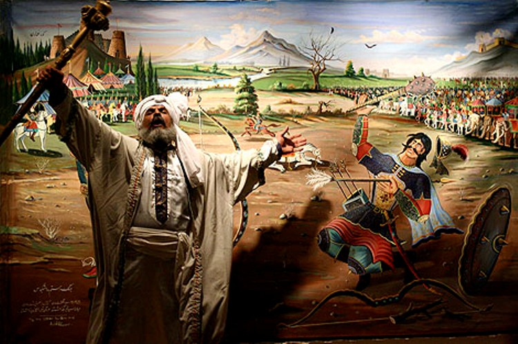 «هفت خوان اسفندیار» در فرهنگسرای بهمن