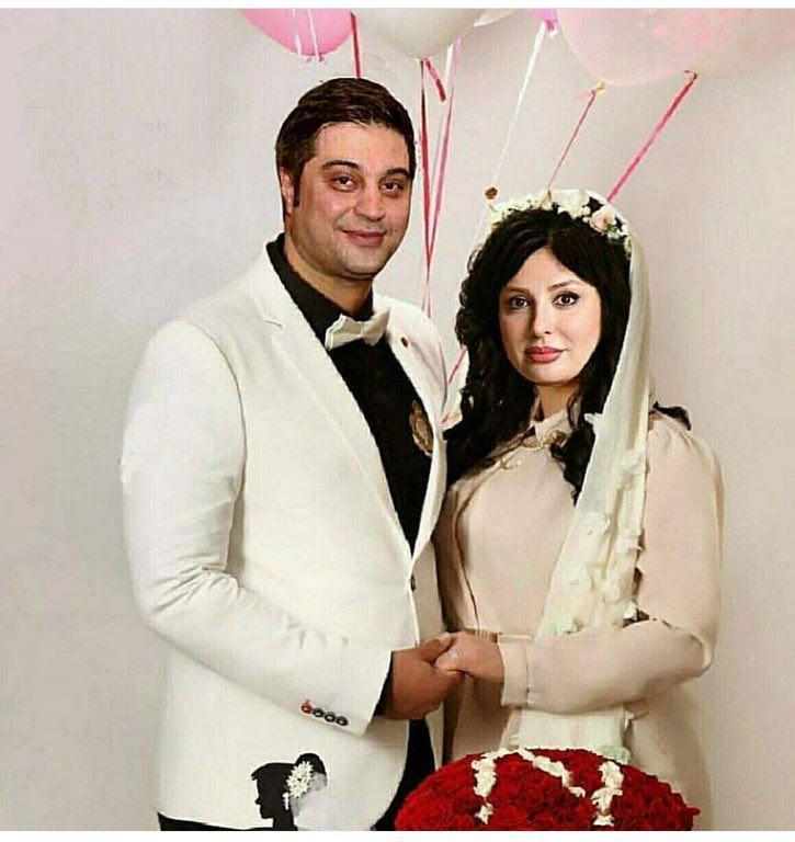 عکسی دیده نشده ازمراسم ازدواج بازیگر سرشناس خانم