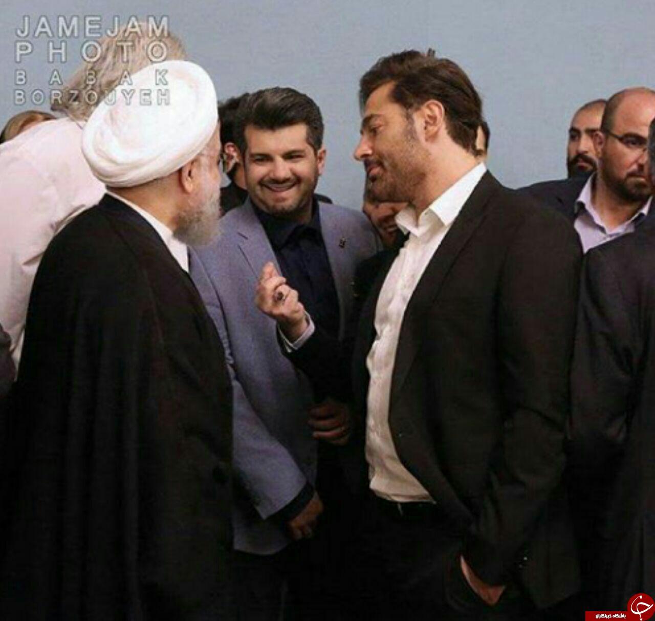 واکنش گلزار به عکس جنجالی اش با رئیس جمهور