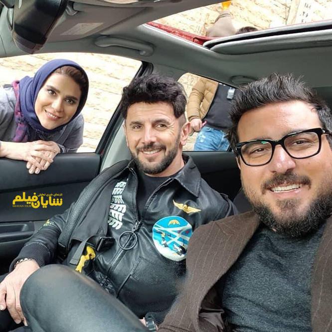 سلفی بازیگران درپشت صحنۀسریال«ساخت ایران2»