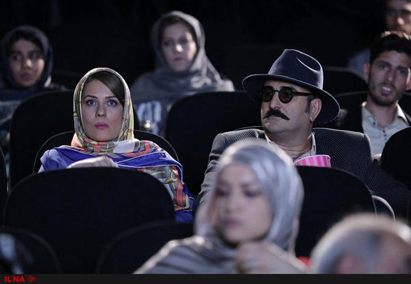 مهران احمدی و سارا بهرامی همبازی شدند
