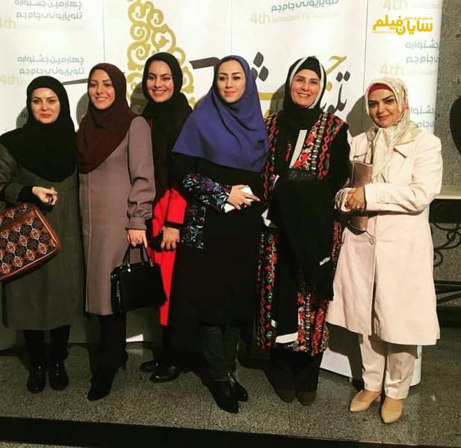 عکس/ دورهمی مجریان زن تلویزیون دریک جشنواره