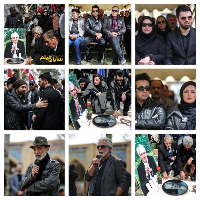 عکس/ هنرمندان در سالگرد درگذشت علی معلم