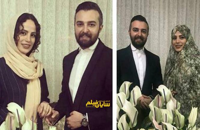 ازدواج مجری صدا و سیما با خانم بازیگر +عکس ها