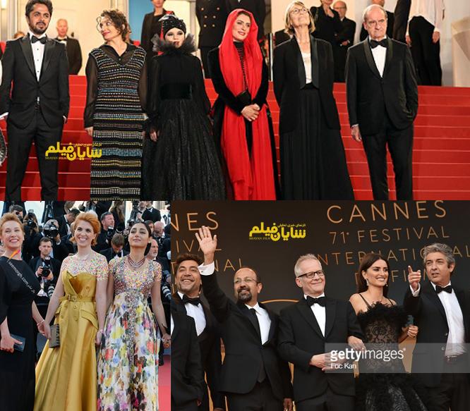 چند ایرانی در جشنواره کن2018 حضور دارند؟