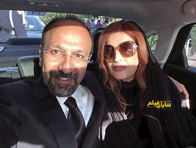 سلفى اصغر فرهادى و همسرش در جشنواره كن