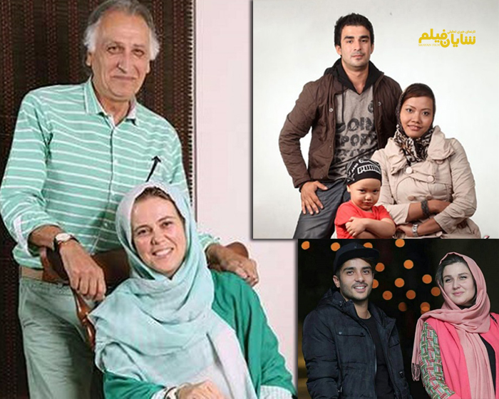 بازیگران ایرانی که همسران غیر ایرانی دارند+عکس