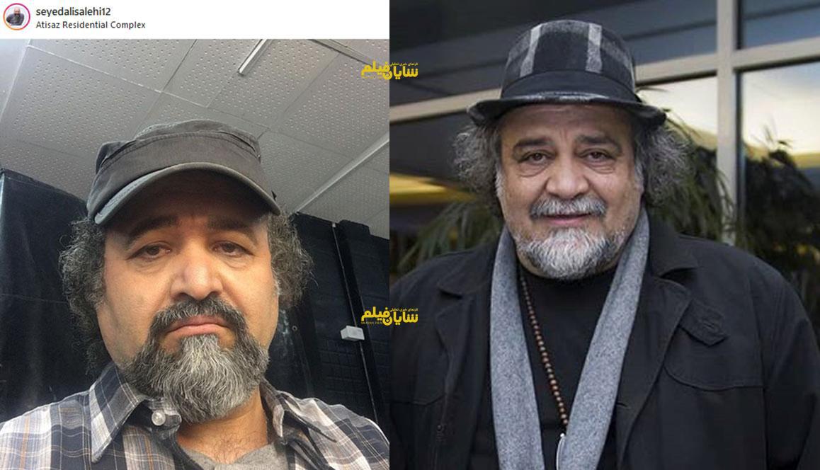 شباهت عجیب یک بازیگر به شریفی نیا +عکس