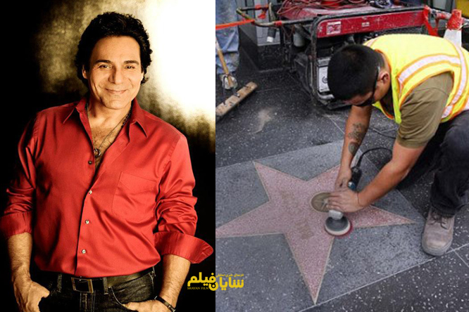 خواننده ایرانی در هالیوود صاحب ستاره میشود
