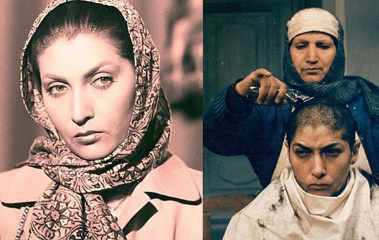 کدام بازیگرانِ زن ایرانی موهای خود را تراشیده اند؟!