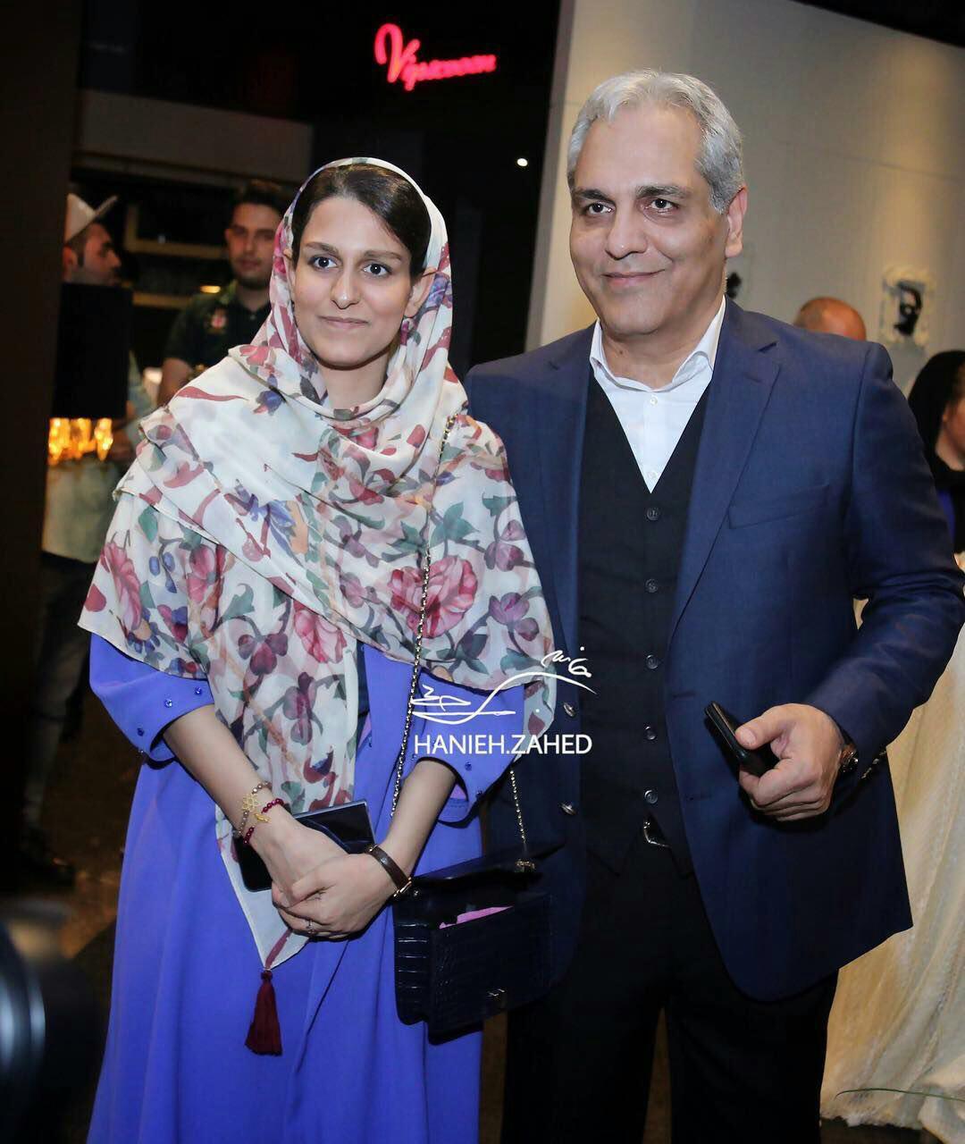 عکس: مهران مدیری در کنار دخترش شهرزاد