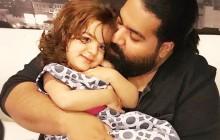 ببینید: همخوانی رضا صادقی و دخترش تیارا