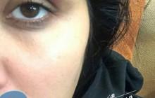 حملۀ یک ناشناس به بازیگر زن ایرانی  +عکس