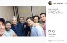 عکس آشتی کنان مهران مدیری با برادران قاسمخانی!