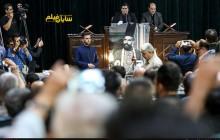 عکس/چهرهها در مراسم ختم ناصر ملک مطیعی