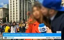 «آزار جنسی» خبرنگار زن در پخش زندۀ تلویزیون