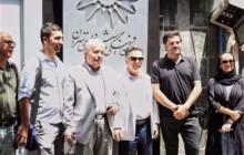 تجمعِ اعتراضیِ عوامل فیلم «دشمن زن» در برابر سازمان فرهنگی- هنری شهرداری تهران