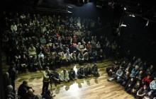 گردهمایی اعتراضی اهالی تئاتر برگزار شد