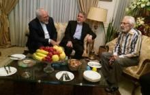عیادت وزیر امور خارجه از مشایخی
