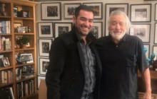 ببینید: دیدار شهاب حسینی با بازیگر معروف هالیوود