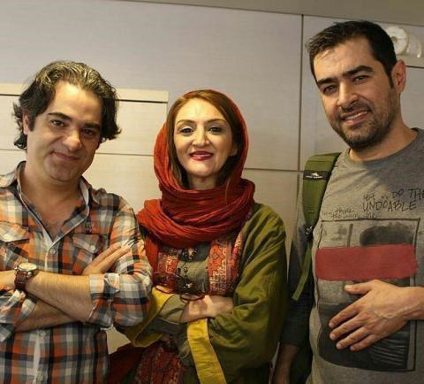 برادرِ شهاب حسینی در کنار خواهرِ لاله اسکندری!