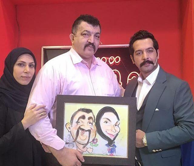 احمد ایراندوست و همسرش در برنامه کامران تفتی