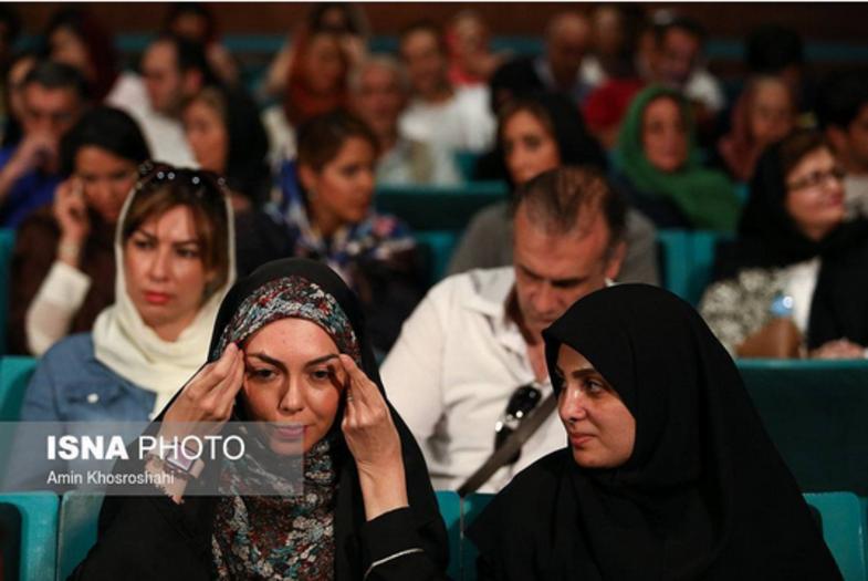 عکس: آزاده نامداری در یک مراسم رویت شد!