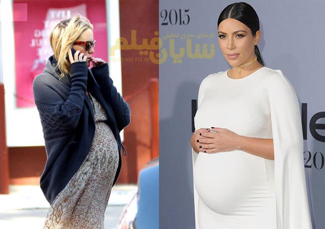 بارداری ستاره هایی که جنجال آفرید!
