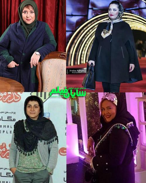 هفت بازیگر ایرانی که وزن کم کرده اند