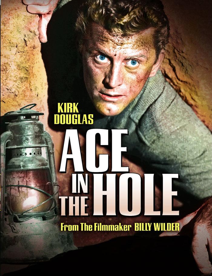 نگاهی به فیلم تک خال در حفره اثر بیلی وایلدر