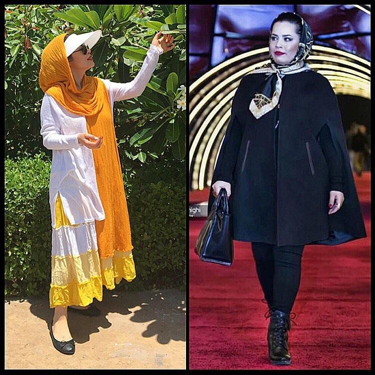 توصیه های بازیگر زن ایرانی برای لاغر شدن!