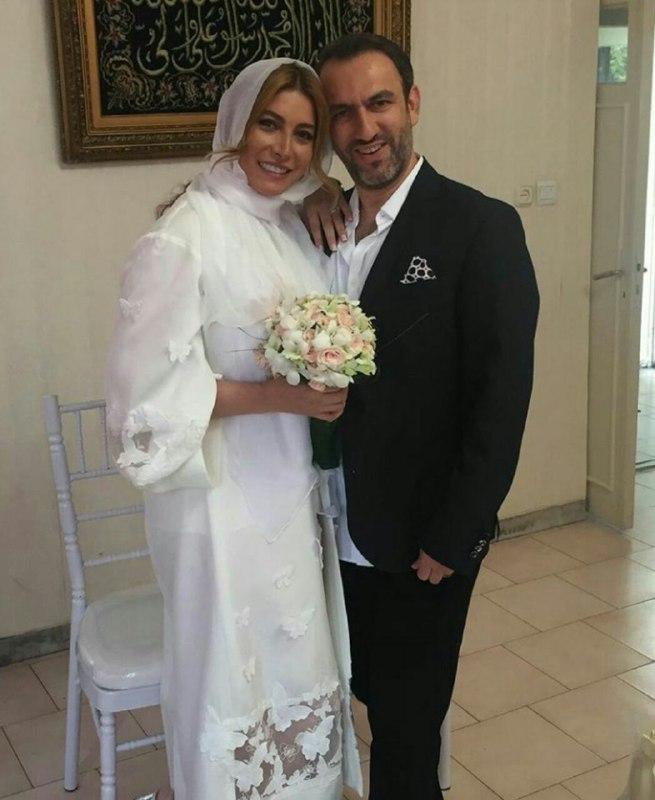 بازیگر زن ایرانی برای دومین بار ازدواج کرد!